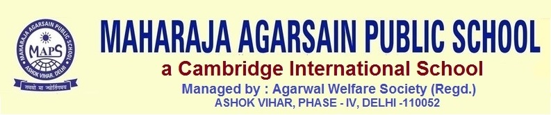 Vacancy-Maharaja Agarsain Public School